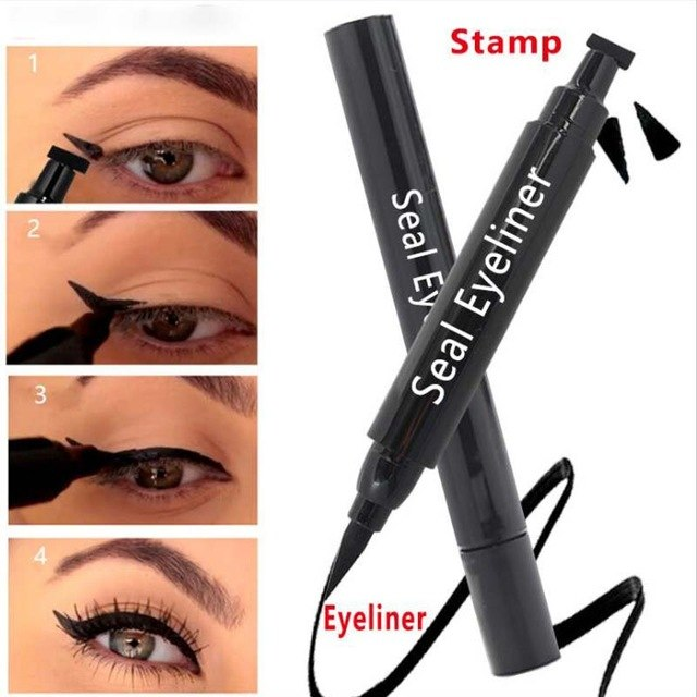 Eyeliner, waterproof, non staining, dark brown, durable - Ime2s