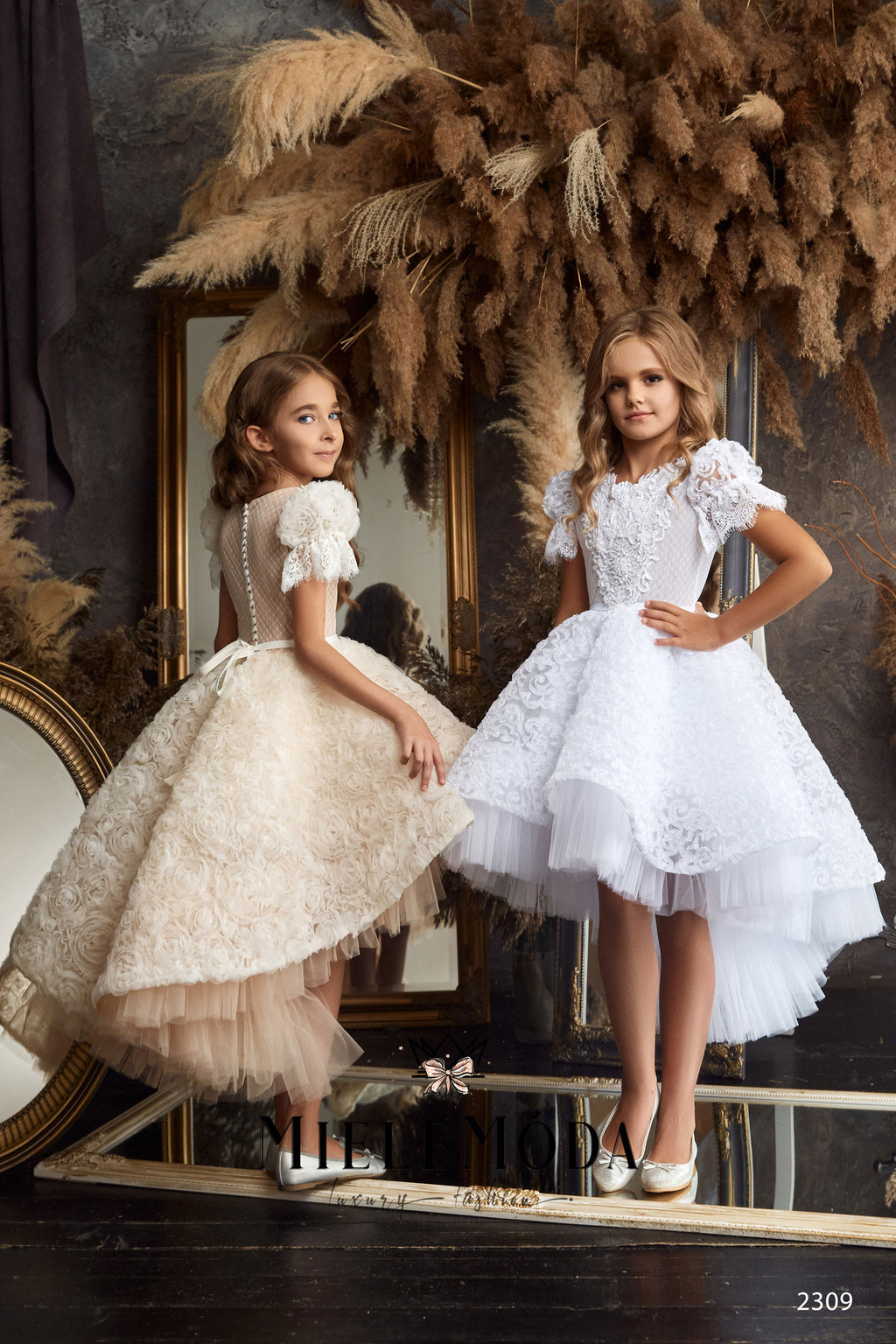 Alessandra Flower Girl First Communion Dress