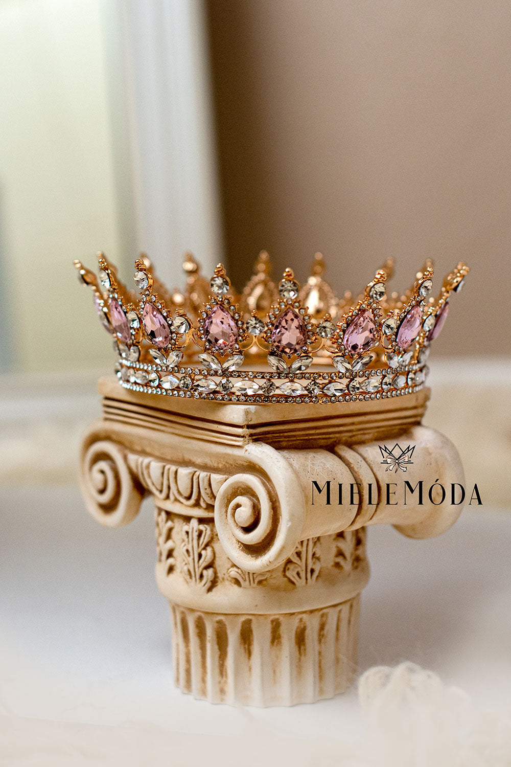 Anastasia Rhinestone Princess Crown