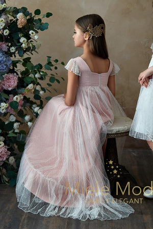 Angel Kisses Ankle Length Gown IN STOCK-Special Occasion Dress-Miele Moda