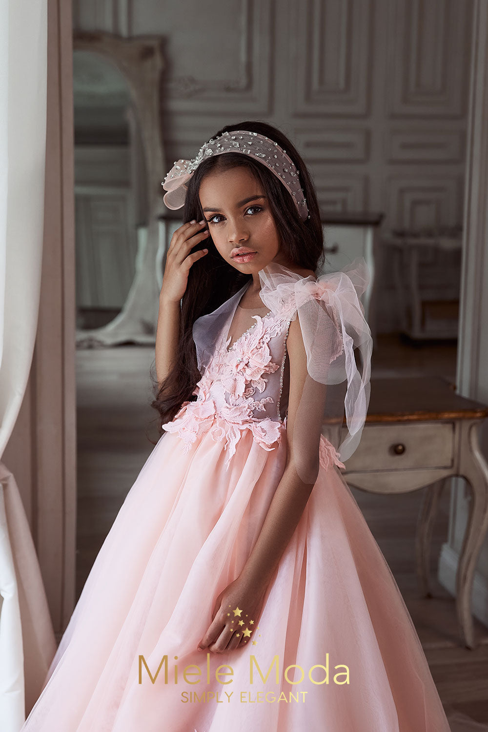 Cosette Flower Girl Couture Dress