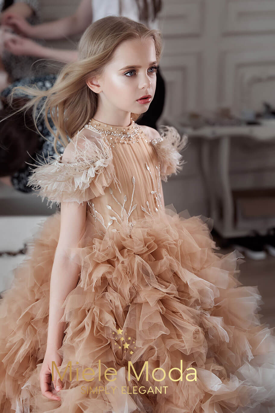 Gabriélle Luxury Couture Princess Dress