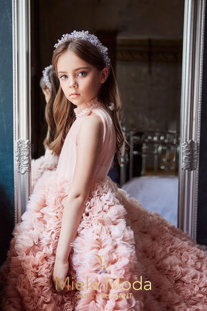 Marie Adelaide Luxury Couture Girls Dress