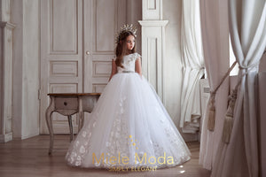 Stéphanie Flower Girl Couture Dress