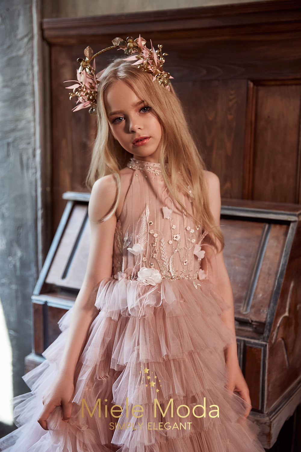 Sylvie Couture Flower Girl Dress