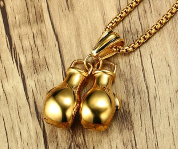 Boxing Gloves  Necklace For Men