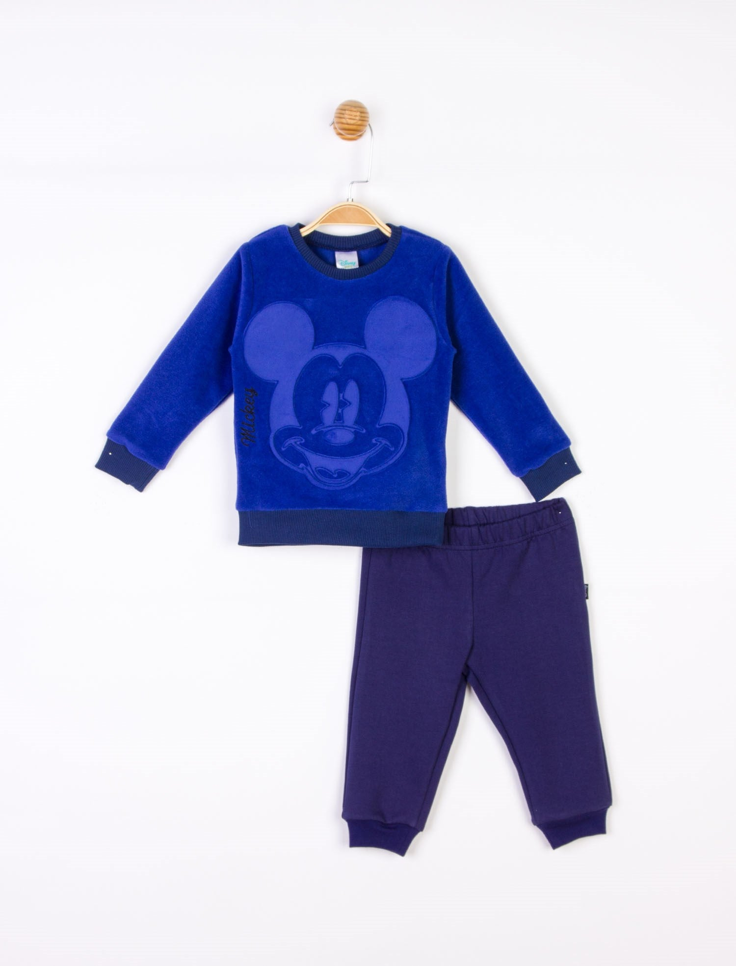 Baby Boy's Mickey Design Polar Outfit - 2 Pieces