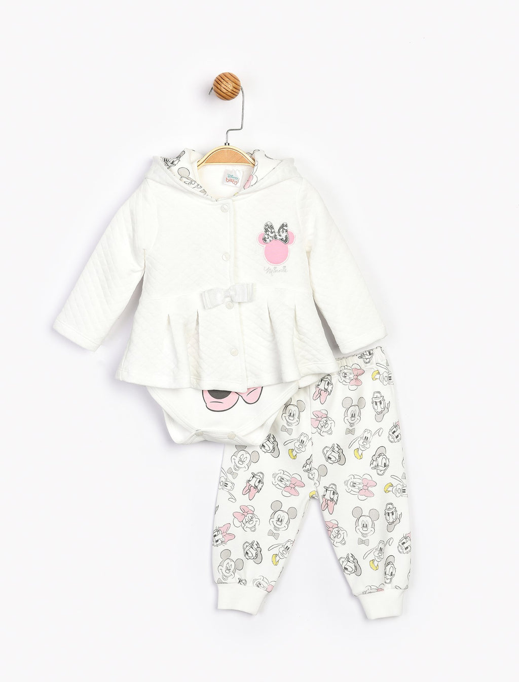 Baby Girl's Outfit Set - 3 Pieces