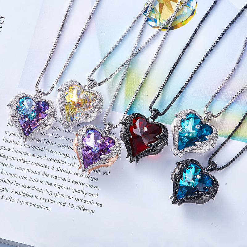 Love Heart Pendant Necklaces for Women