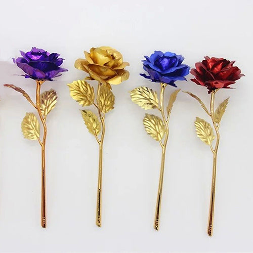 Gold-Plated Flowers