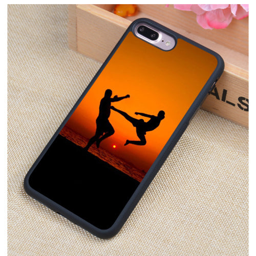 Martial Arts Printed Soft Rubber Cell Phone Cases For iphone