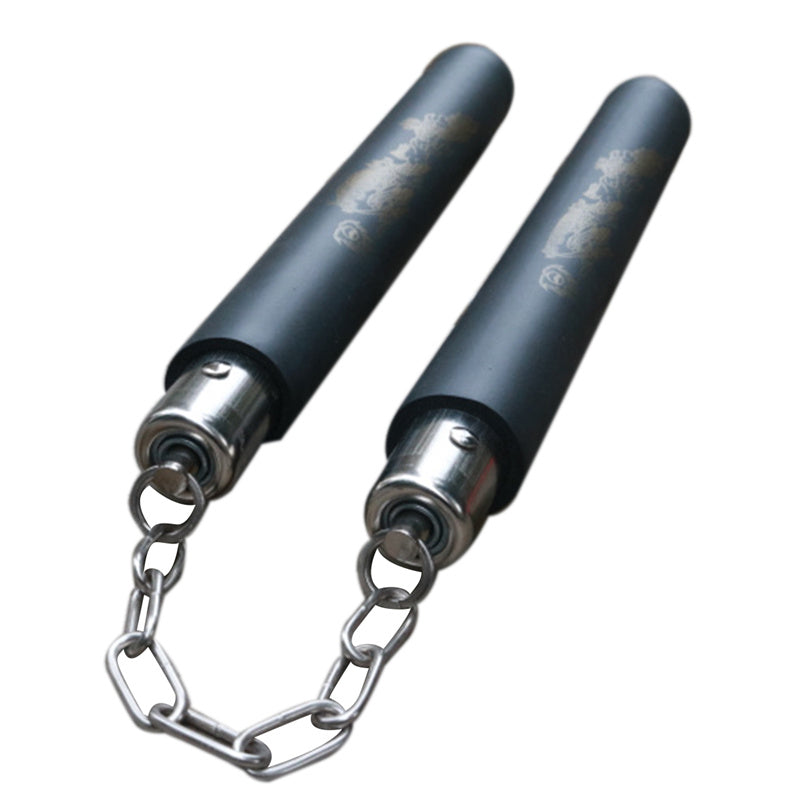 Autentic Black Martial Arts Nunchaku