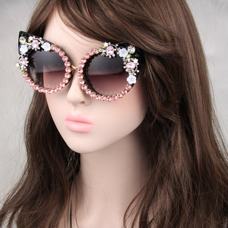 Luxury Cat Eyes Sunglasses
