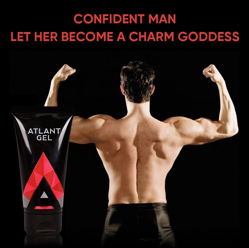 Atlant Gel Men Penis Enlargement Cream