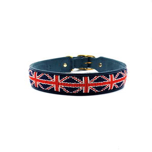 Union Jack Red White & Blue on Navy