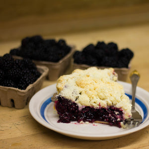 (Thaw & Serve) Marionberry Cobbler - 9""