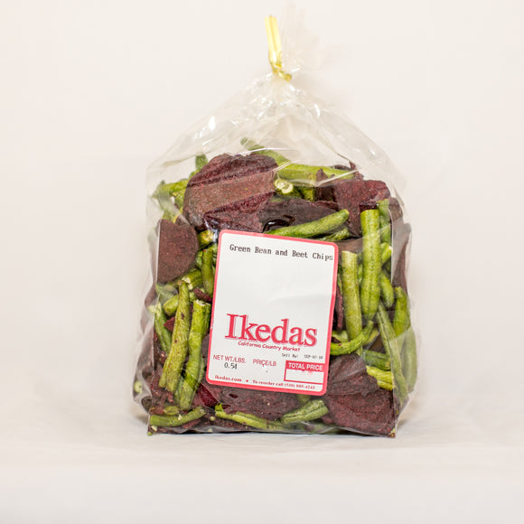 Green Bean and Beet Chips 1lb