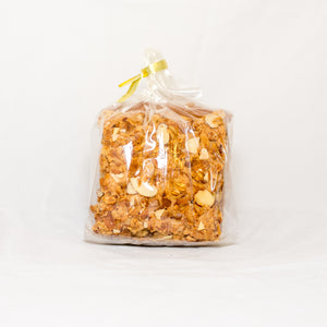 Honey Almond Granola Squares