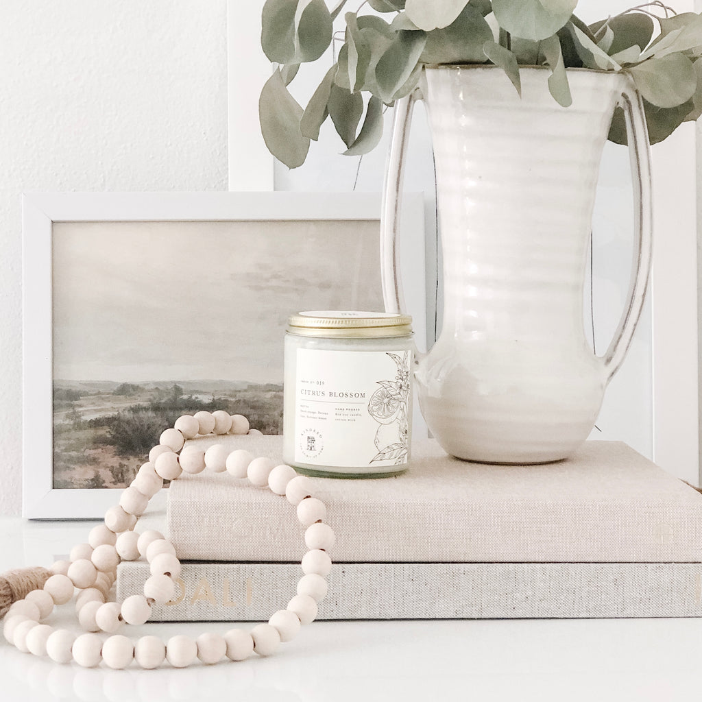 Citrus Blossom Candle by Kindred home