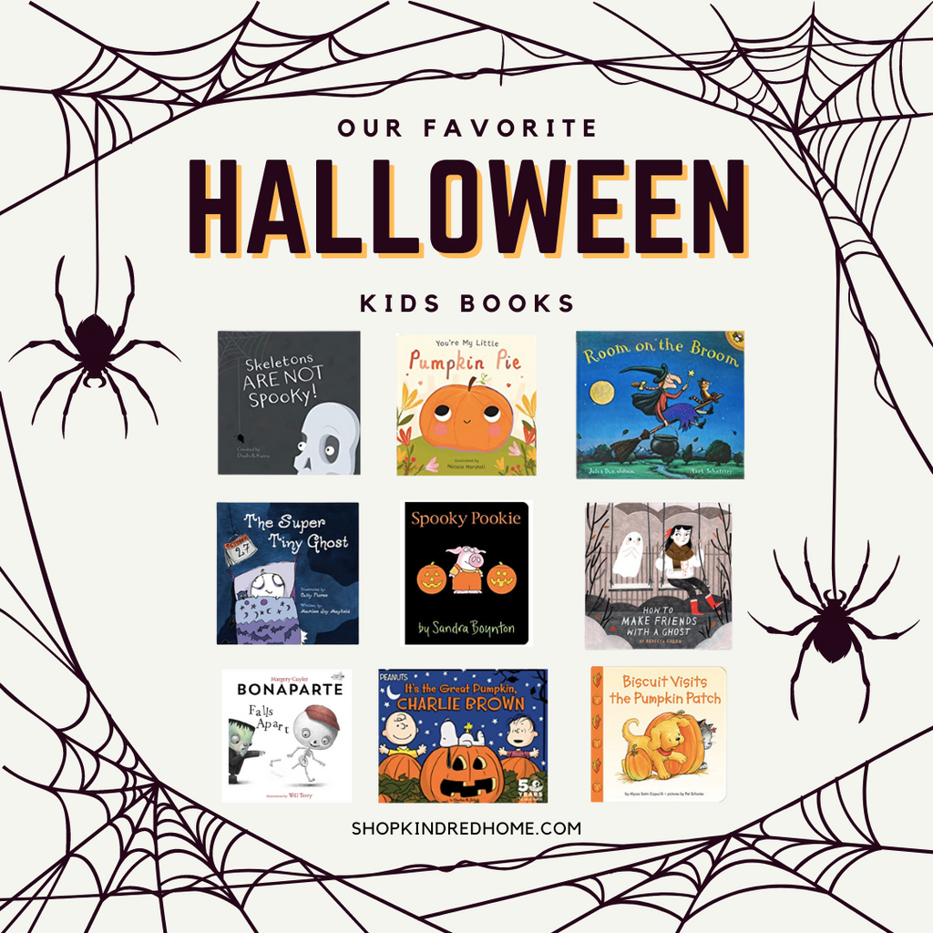 Kindred Home Our Favorite Halloween Kids Books