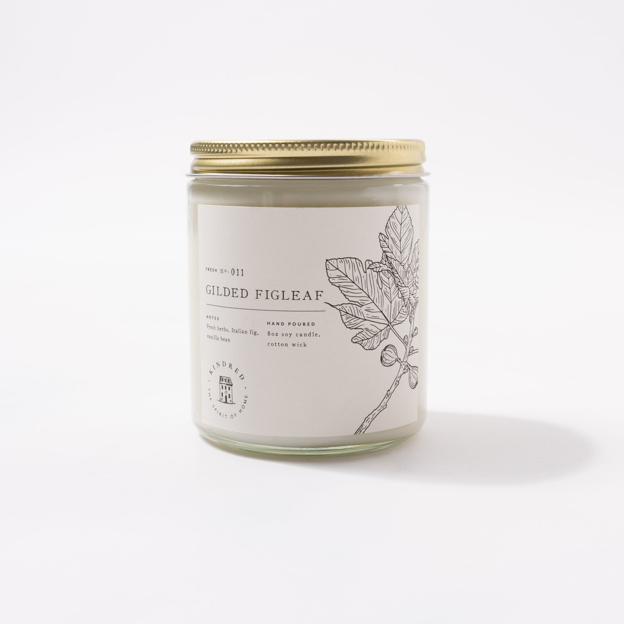 Gilded Figleaf Classic Candle
