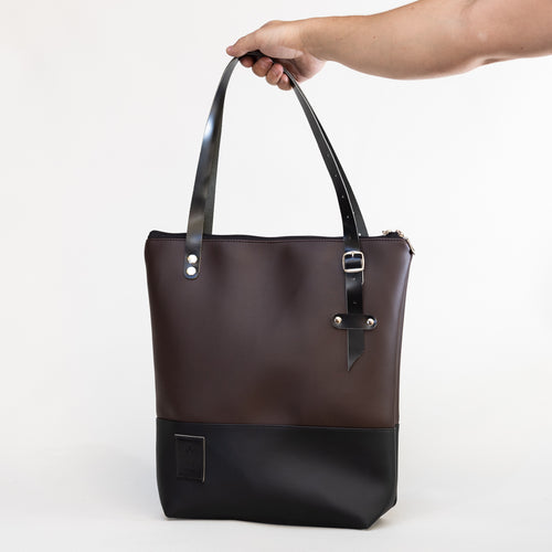 Tote Bag Black/Brown