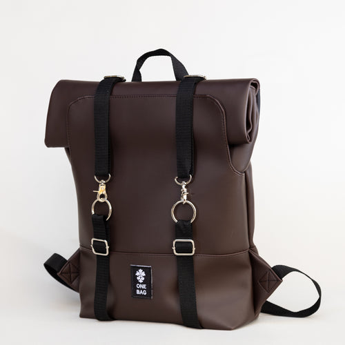Vegan Roll Bag Brown