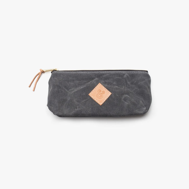 Large Waxed Canvas Pouch