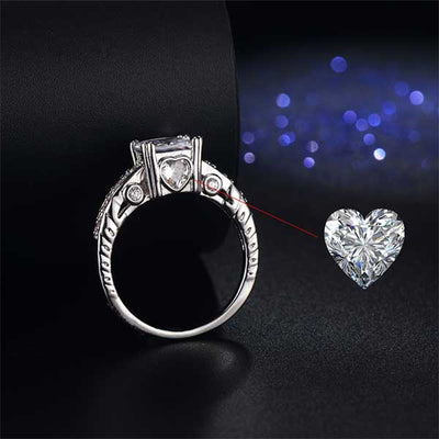 Sterling Silver Love Ring - jpgstorepro.com