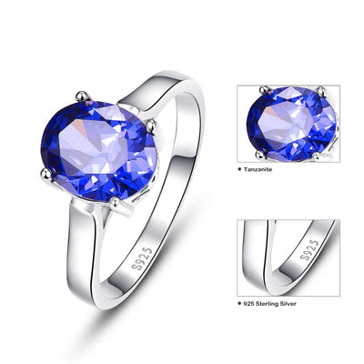 4.3ct Natural Tanzanite Ring - jpgstorepro.com