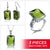 Luxury Silver Stunner Peridot Set