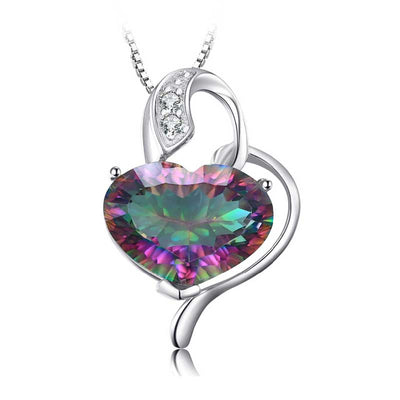 8ct Rainbow Topaz Necklace - jpgstorepro.com/ring/bracelet/earrings/necklace/birthstone/gemstone/sterling silver/ruby/emerald/sapphire/diamond/amethyst/aquamarine/citrine