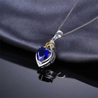 Love Heart 2.5ct Pendant Necklace - jpgstorepro.com