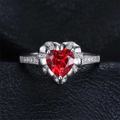 Love Heart 8.7ct Ruby Jewelry - jpgstorepro.com