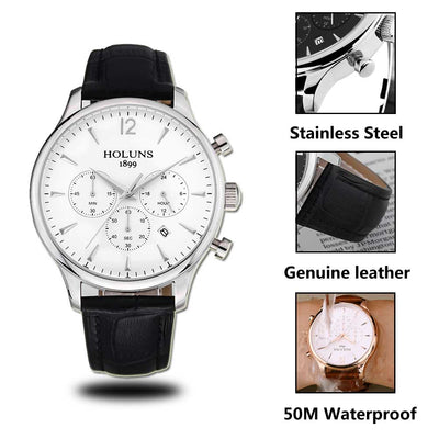 Luxury Business Waterproof Watch - jpgstorepro.com