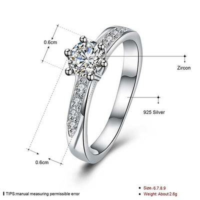 Luxury Women Crystal Ring - jpgstorepro.com