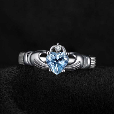 Natural Aquamarine Ring - jpgstorepro.com