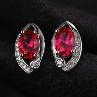 Ruby Eye Jewelry Set - jpgstorepro.com