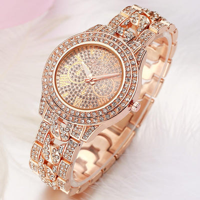 JP Women Diamond Watch - jpgstorepro.com