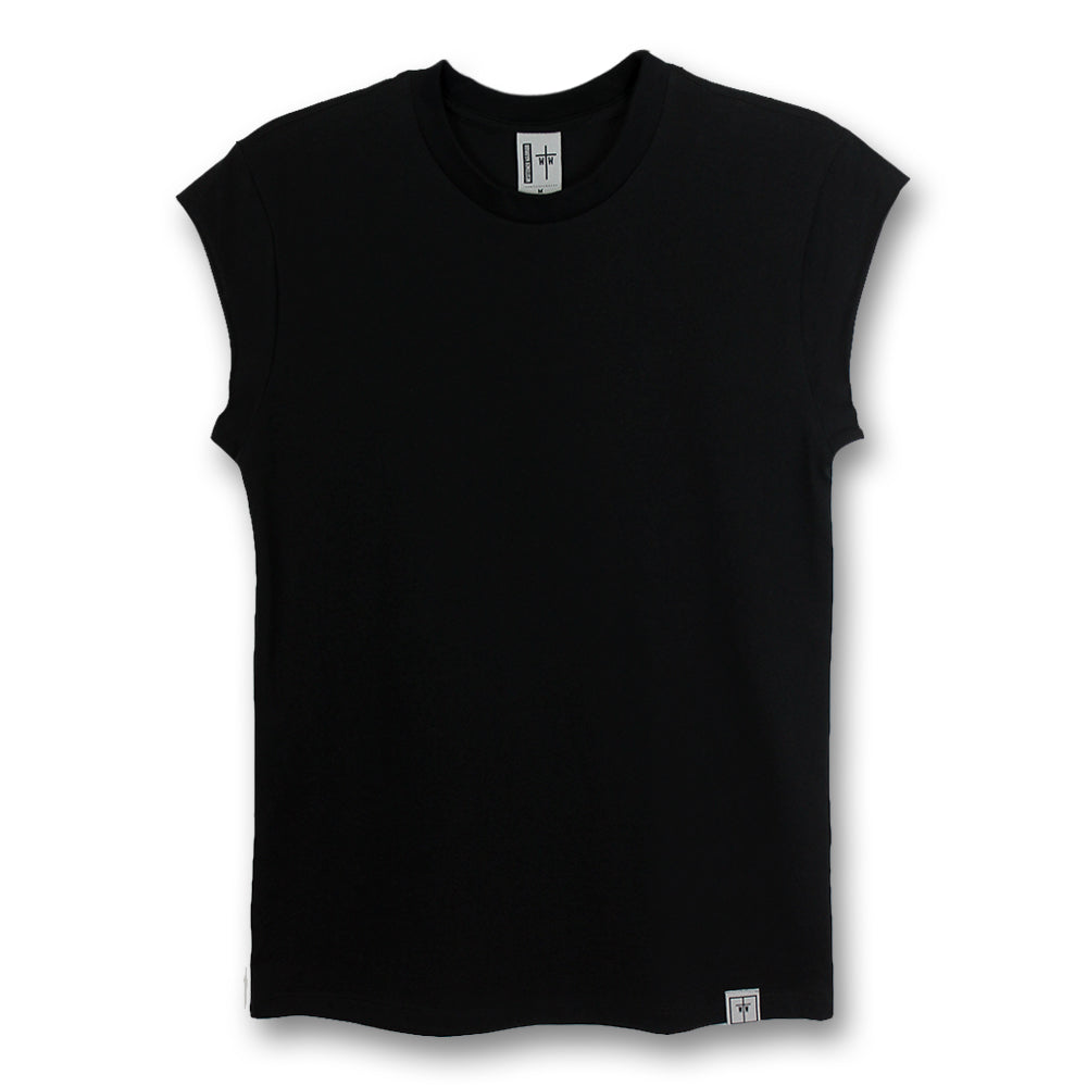 WTW Cropped Sleeve Classic Tee