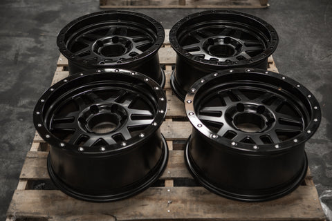 VIPER SET | 16x8 -12 | 6x139.7 | SATIN BLACK (VP_168_SB)