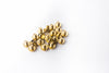 Bead Ring Bolts | Gold | Pack of 20