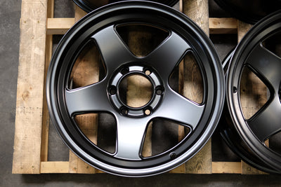 OUTLAW SET | 18x9 +0 | 6x139.7 | SATIN BLACK (OL_189_2)