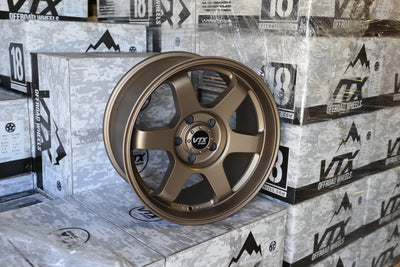 JEEP JK / JL | TERRA SET | 18X9 -12 | 5x127 | SATIN BRONZE