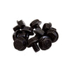Bead Ring Bolts | Black | Pack of 20