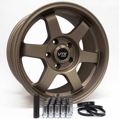 JEEP JK / JL | TERRA SET | 17X8.5 +0 | 5x127 | SATIN BRONZE
