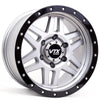 VIPER | SET OF FIVE | 17x8.5 -10 | 6x139.7 | SATIN GRAY