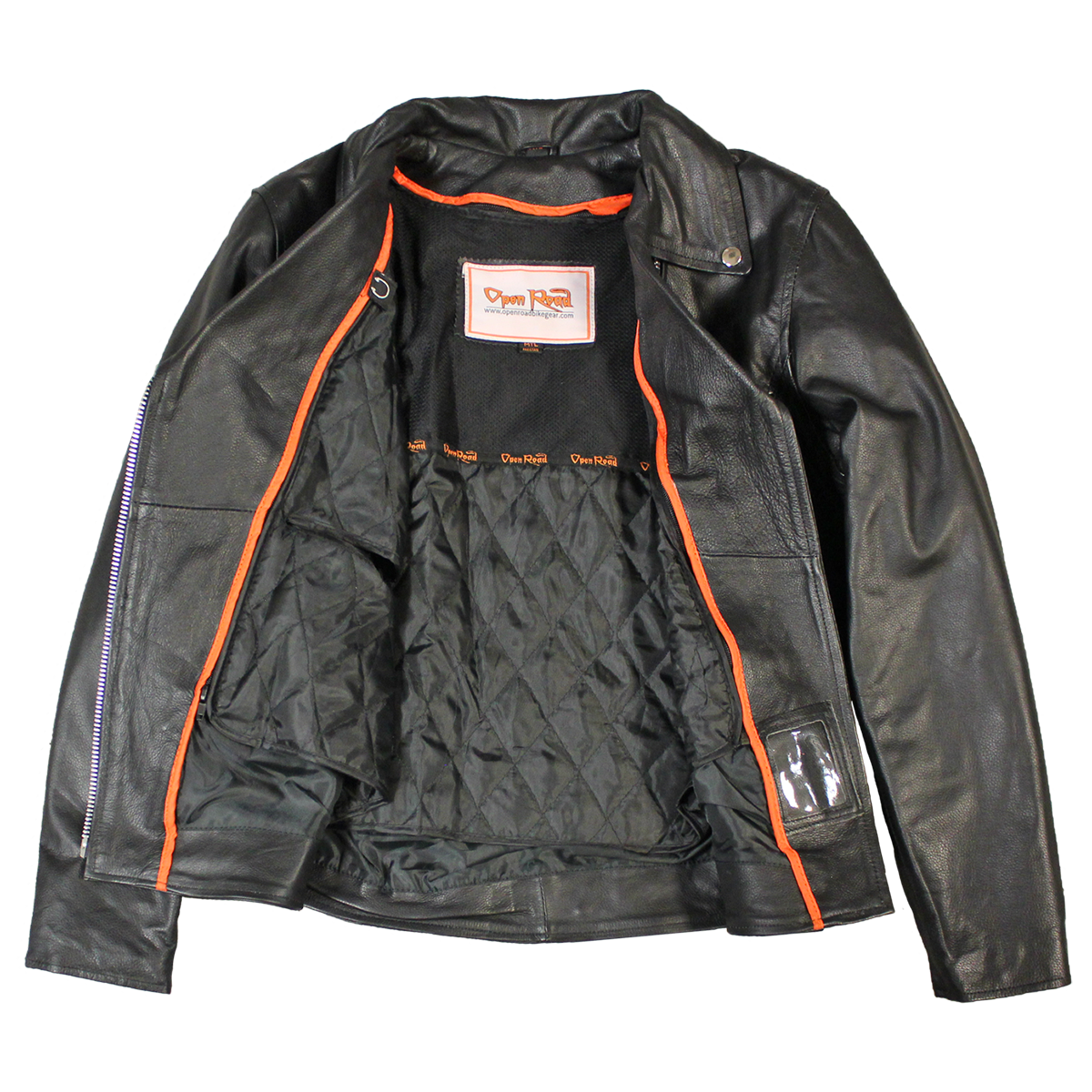 Women s Cycle Jackets - Boutique of Leathers Open Road 01968e4e4