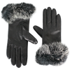Fur Trim Tech Gloves