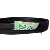Men's Hidden Pocket Leather Money Belt